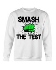 SMASH THE TEST Crewneck Sweatshirt thumbnail
