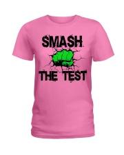 SMASH THE TEST Ladies T-Shirt thumbnail