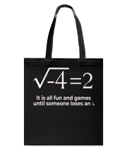 Math  Tote Bag front
