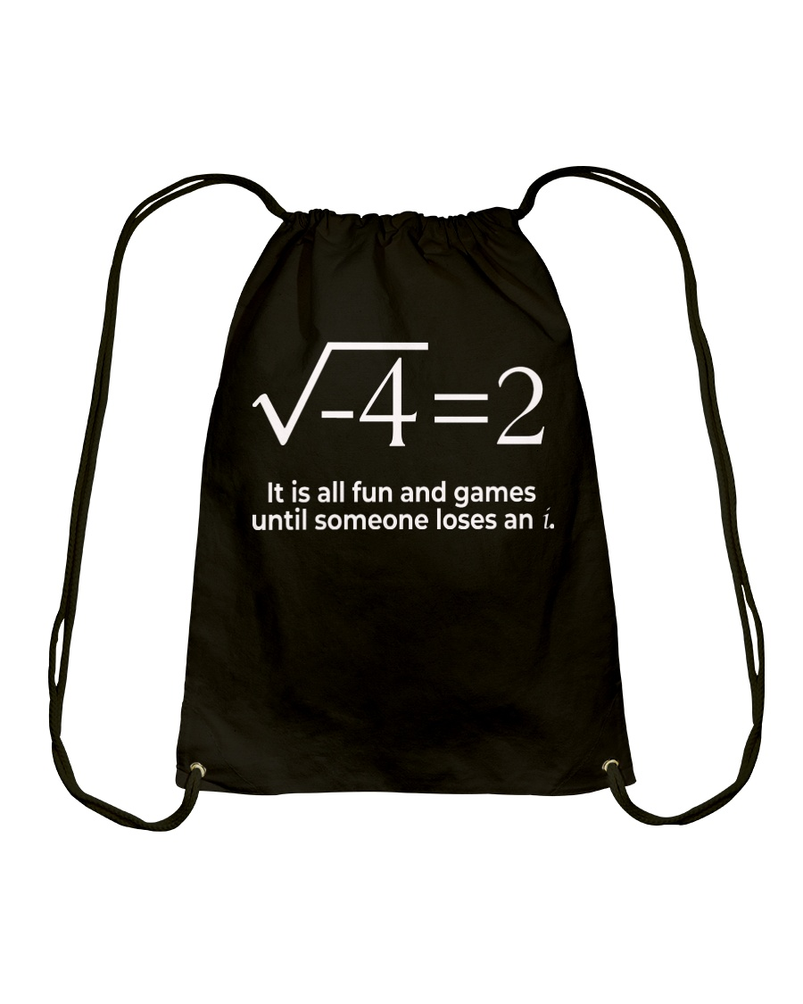 Math  Drawstring Bag