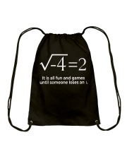 Math  Drawstring Bag thumbnail