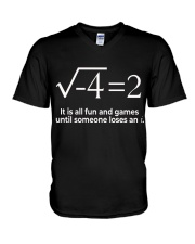 Math  V-Neck T-Shirt thumbnail