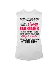 I have a Crazy Railroader Sleeveless Tee tile