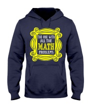 The one with all the math problems Hooded Sweatshirt thumbnail