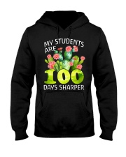MY STUDENTS ARE 100 DAYS SHARPER Hooded Sweatshirt thumbnail