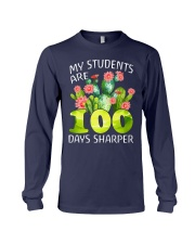 MY STUDENTS ARE 100 DAYS SHARPER Long Sleeve Tee thumbnail