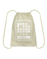 BOOBIES CALCULATOR  Drawstring Bag thumbnail