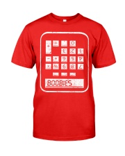 BOOBIES CALCULATOR  Classic T-Shirt front