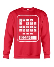 BOOBIES CALCULATOR  Crewneck Sweatshirt thumbnail