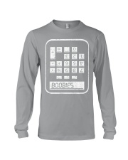 BOOBIES CALCULATOR  Long Sleeve Tee thumbnail