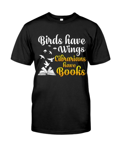 Birds Have Wings Librarian have Books