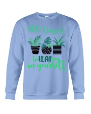 100 DAYS OF BE LEAFING IN YOURSELF Crewneck Sweatshirt thumbnail