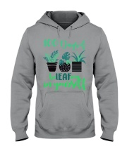 100 DAYS OF BE LEAFING IN YOURSELF Hooded Sweatshirt thumbnail