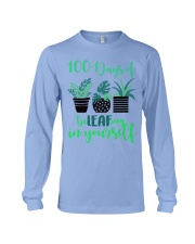 100 DAYS OF BE LEAFING IN YOURSELF Long Sleeve Tee thumbnail