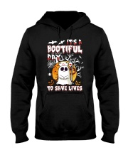 Its a bootiful day to save lives Hooded Sweatshirt thumbnail