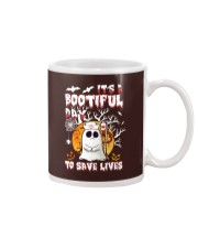 Its a bootiful day to save lives Mug tile