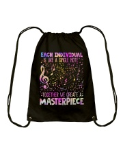 We creat a masterpiece Drawstring Bag thumbnail
