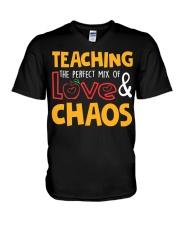TEACHING THE PERFECT MIX OF LOVE  V-Neck T-Shirt thumbnail
