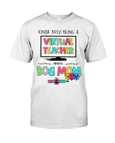 Virtual Teacher and a dog mom