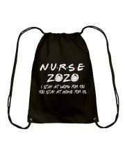 Nurse 2020 Drawstring Bag thumbnail