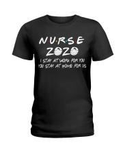 Nurse 2020 Ladies T-Shirt thumbnail