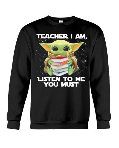 Teacher I am listen to me you must