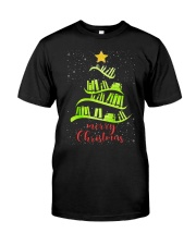 LIBRARIAN MERRY CHRISTMAS Classic T-Shirt front