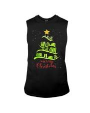 LIBRARIAN MERRY CHRISTMAS Sleeveless Tee thumbnail
