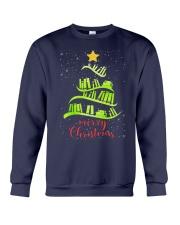 LIBRARIAN MERRY CHRISTMAS Crewneck Sweatshirt thumbnail