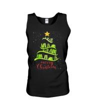 LIBRARIAN MERRY CHRISTMAS Unisex Tank thumbnail