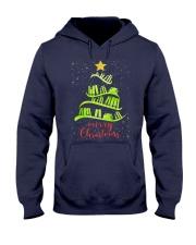 LIBRARIAN MERRY CHRISTMAS Hooded Sweatshirt thumbnail