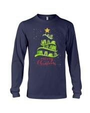 LIBRARIAN MERRY CHRISTMAS Long Sleeve Tee thumbnail
