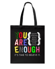 Teacher Shirt Tote Bag tile