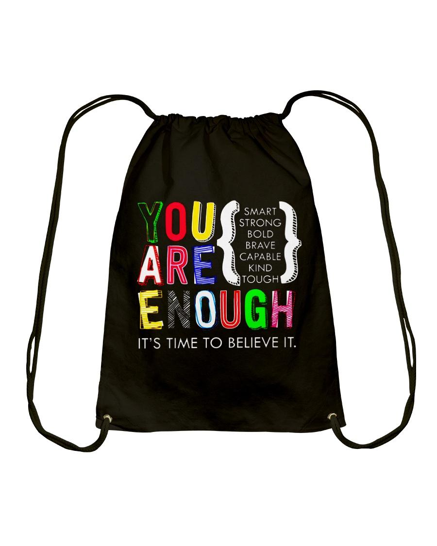 Teacher Shirt Drawstring Bag