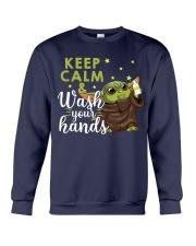 wash your hands Crewneck Sweatshirt thumbnail
