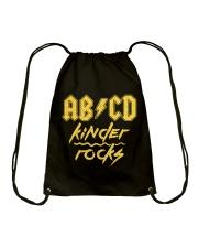 Kinder rocks Drawstring Bag thumbnail