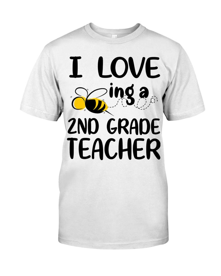 I Love being a 2nd grade Teacher Classic T-Shirt