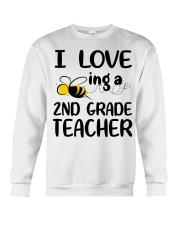 I Love being a 2nd grade Teacher Crewneck Sweatshirt thumbnail