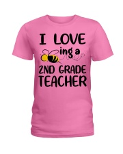 I Love being a 2nd grade Teacher Ladies T-Shirt thumbnail