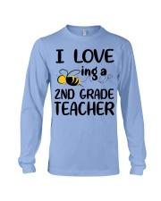 I Love being a 2nd grade Teacher Long Sleeve Tee thumbnail