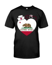 California Nurse Classic T-Shirt tile