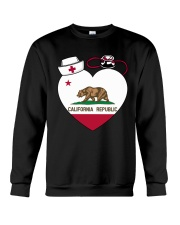 California Nurse Crewneck Sweatshirt thumbnail