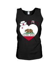 California Nurse Unisex Tank thumbnail