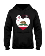 California Nurse Hooded Sweatshirt thumbnail