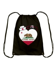 California Nurse Drawstring Bag thumbnail