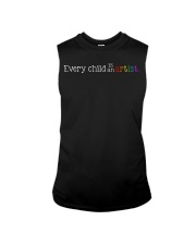 EVERY CHILD IS AN ARTIST Sleeveless Tee tile