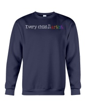 EVERY CHILD IS AN ARTIST Crewneck Sweatshirt thumbnail