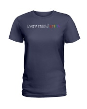 EVERY CHILD IS AN ARTIST Ladies T-Shirt thumbnail