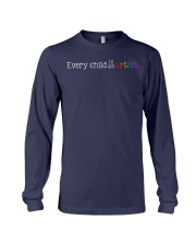EVERY CHILD IS AN ARTIST Long Sleeve Tee thumbnail