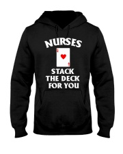 Nurses stack the deck for you Hooded Sweatshirt thumbnail